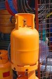 Cylindre de gaz Photographie stock