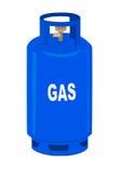 Cylindre de propane. illustration de vecteur