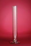 Cylindre gradué chimique Photo libre de droits