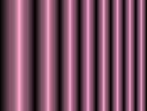 Cylindres brillants métalliques abstraits Images libres de droits