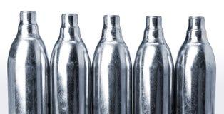 Cylindres de CO2 Photos libres de droits