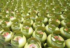 CYLINDRES DE GAZ DE LPG Image stock