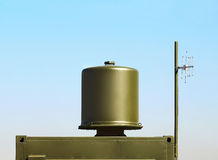 Cylindrical antenna Royalty Free Stock Images
