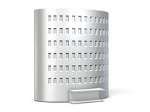 A cylindrical  building miniature Royalty Free Stock Images