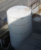 Cylindrical tank Stock Image