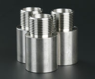 Cylindrical workpiece Royalty Free Stock Images