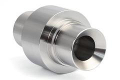 Cylindrical workpieces Royalty Free Stock Images