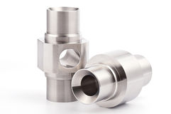 Cylindrical workpieces Royalty Free Stock Photography