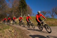 cyling berg för cykel royaltyfri foto