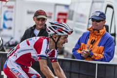 The Cylist Joaquim Rodriguez Oliver Stock Photography