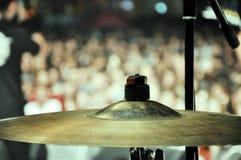 cymbal Arkivfoton