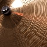 Cymbal Close Up Stock Photo