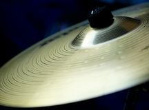 Cymbal detail Stock Photo
