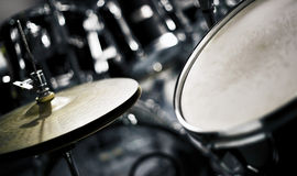 Cymbal and drum Royalty Free Stock Photography