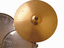 Cymbal and Drums 2 Royalty Free Stock Photo