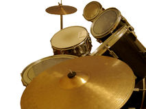 Cymbal and Drums Stock Image