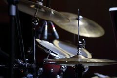 Cymbal and drums Royalty Free Stock Photos
