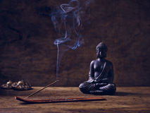 Cymbal för trä för Buddhajosspinne Royaltyfria Bilder