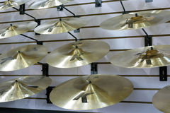 Cymbal på försäljning Arkivfoto