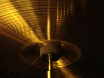 Cymbal shot Royalty Free Stock Photos