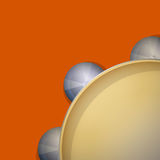 Cymbal tambourine icon Royalty Free Stock Photos