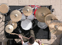 Cymbalism royalty free stock photo