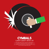 Cymbals Music Instrument Royalty Free Stock Photography