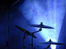 cymbals ställde in Arkivbild