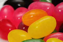 Colorful jellybeans Royalty Free Stock Images