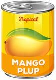 Cyna mangowy plup ilustracji