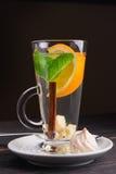 cynamonowa herbatę Zdjęcie Royalty Free