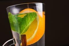 cynamonowa herbatę Obrazy Stock