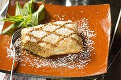 Cynamonowy kurczaka filo ciasto zdjęcia stock