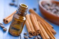 Cynamonowy olej obrazy stock