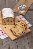 Cynamonowy rodzynka chleb Zdjęcie Royalty Free