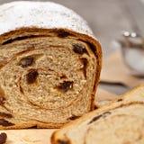 Cynamonowy rodzynka chleb Zdjęcia Royalty Free
