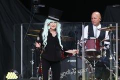 Cyndi Lauper royaltyfri foto