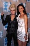 Cyndi Lauper,Juliette Lewis Stock Photo