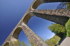 Cynghordy wiadukt Zdjęcia Royalty Free