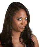 Cynical Black Woman Royalty Free Stock Image