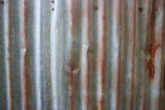 Cynk lub cynk ściana Zdjęcia Stock
