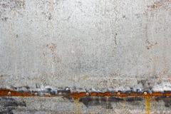 Cynk pokrywająca galwanizująca stalowa metalu prześcieradła talerza tekstura Zdjęcia Royalty Free