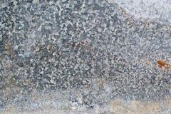 Cynkowa metal tekstura Fotografia Royalty Free
