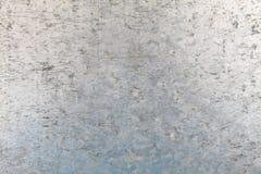 cynkowa metalu talerza tekstura Obraz Royalty Free