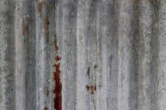 Cynkowa tekstura Zdjęcia Stock