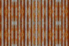 Cynkowego ściennego tekstury bezszwowego deseniowego tła ośniedziały panwiowy metal stary Fotografia Royalty Free