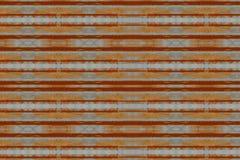 Cynkowego ściennego tekstury bezszwowego deseniowego tła ośniedziały panwiowy metal stary Obraz Stock