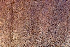 Cynkowego gnicie wzoru stara rdza Obraz Stock
