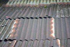 Cynkowy dach Obrazy Royalty Free