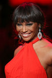 Cynthia Bailey walks the runway at the Go Red For Women Red Dress Collection 2015 Royalty Free Stock Photography